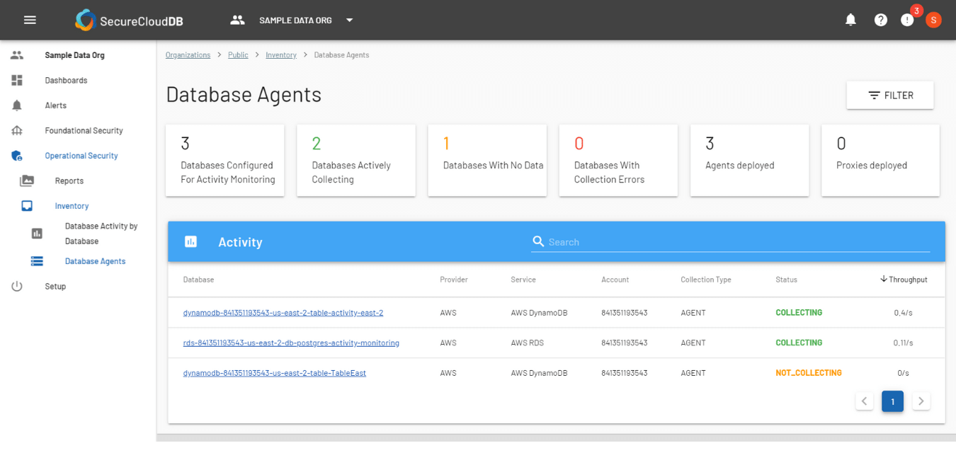 Database Agents Report