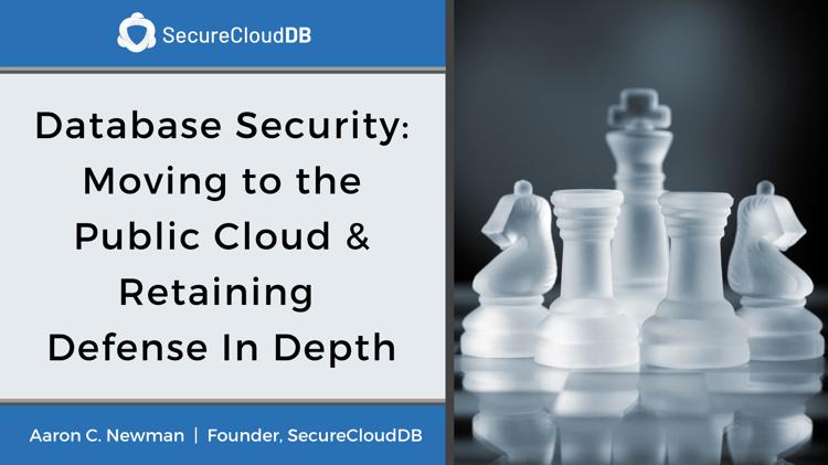SecureCloudDB Webinar